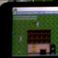 Mobile MMORPG made with MMORPG Maker XB running on HTC Dream with Android 1.6